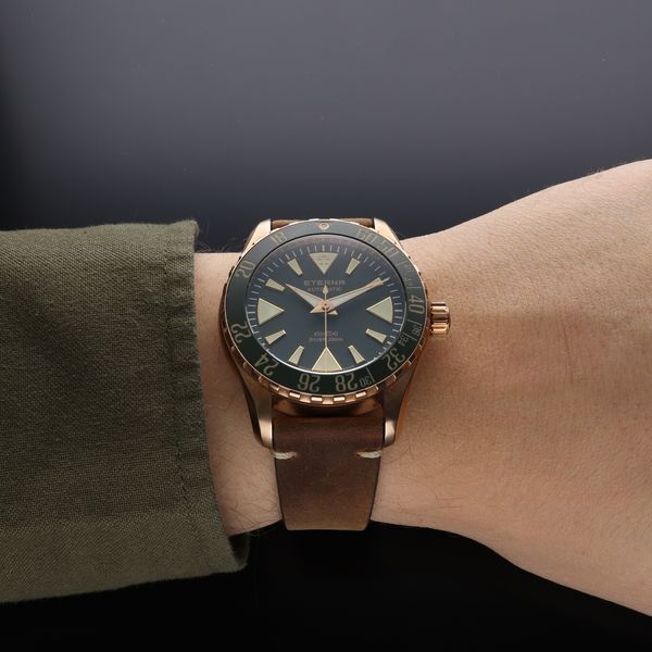 Eterna Kontiki Bronze Green Limited Edition