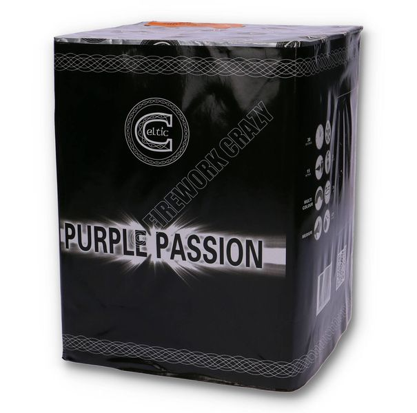 Purple Passion By Celtic Fireworks