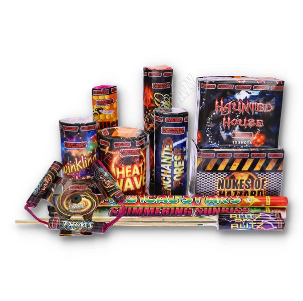 Fiesta Selection Box by Jonathans Fireworks