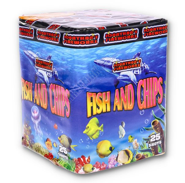 Fish & Chips by Jonathans Fireworks